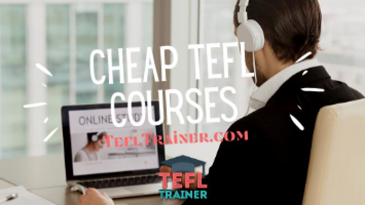 Cheap TEFL Courses