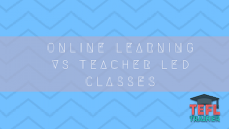Online Learning vs Teacher Led Classes