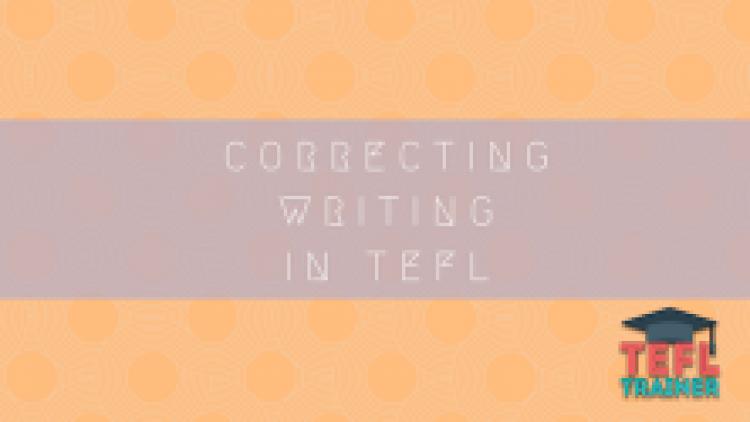 Correcting Writing in TEFL