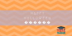 Happy halloween TEFL Trainer