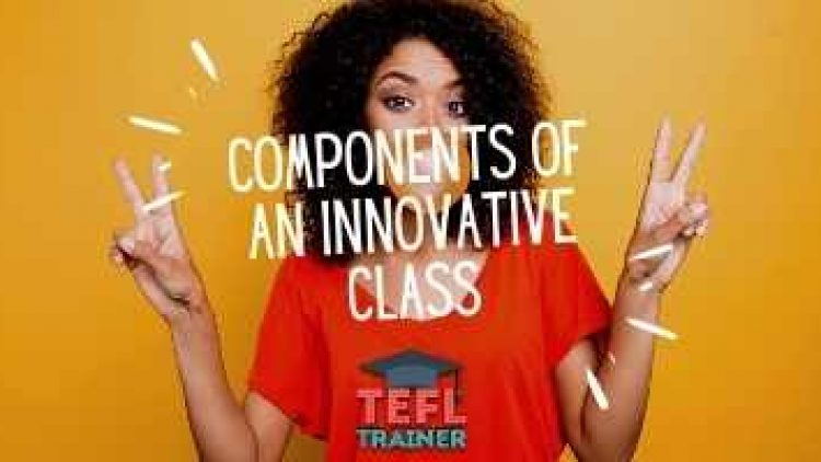 How do you make necessary components of a class more innovative?