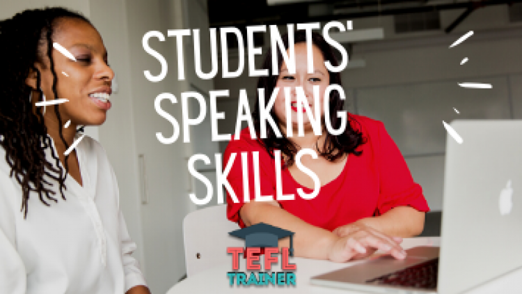 What approach can improve your students' speaking skills?