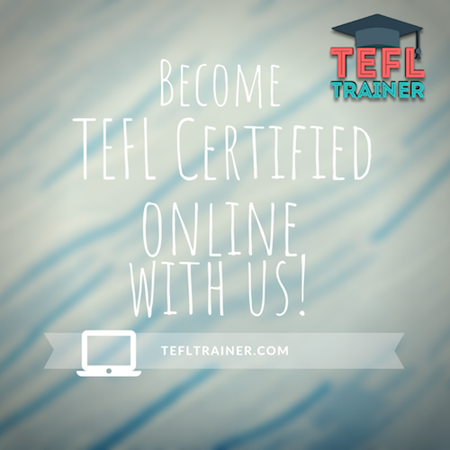 Become TEFL Certified