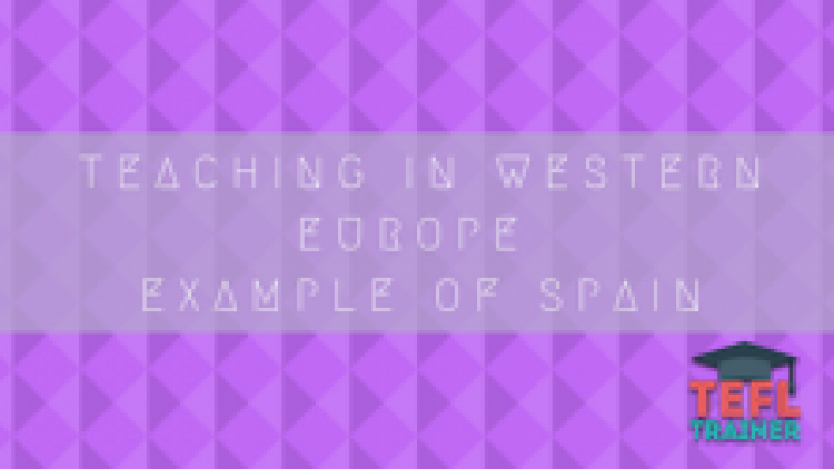 Teaching in Western Europe