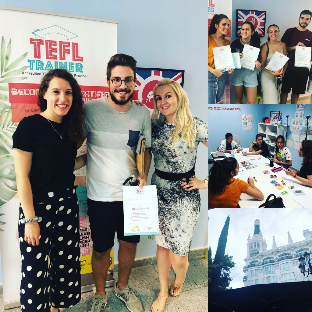 TEFL Trainer Spain crash course