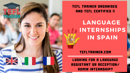language intern TEFL Trainer Spain