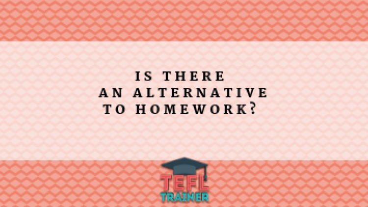Is there an alternative to homework? How do I find out how much English my students know?