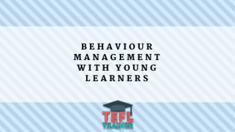 Behaviour management with young learners