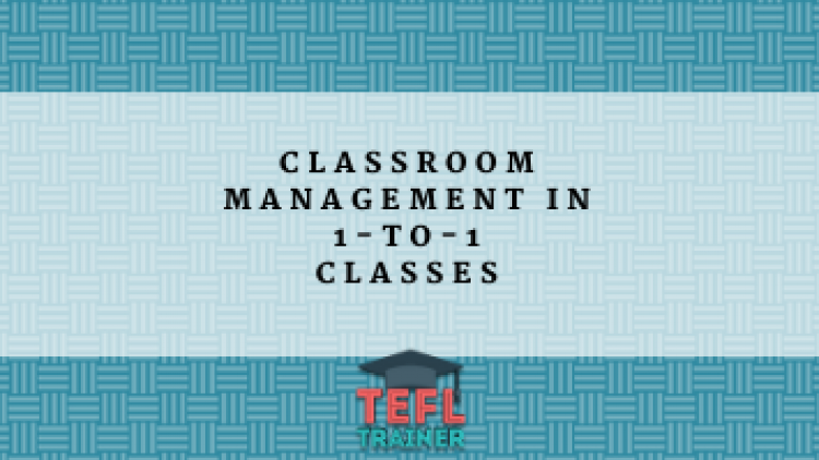 Classroom Management in 1-to-1 Classes