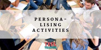 Personalising Activities TEFL Trainer Blog