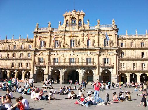 Plaza_Mayor,_Salamanca TEFL Trainer internships