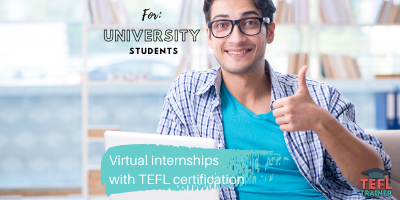 TEFL Trainer Virtual Internships