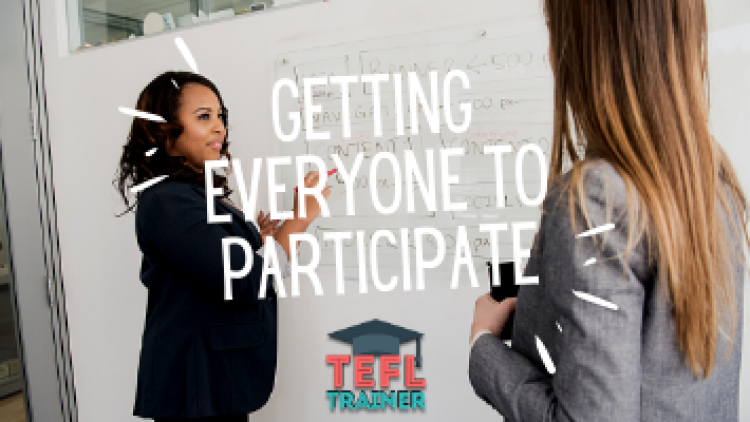 Student participation: How do you get everyone to comfortably participate in class?