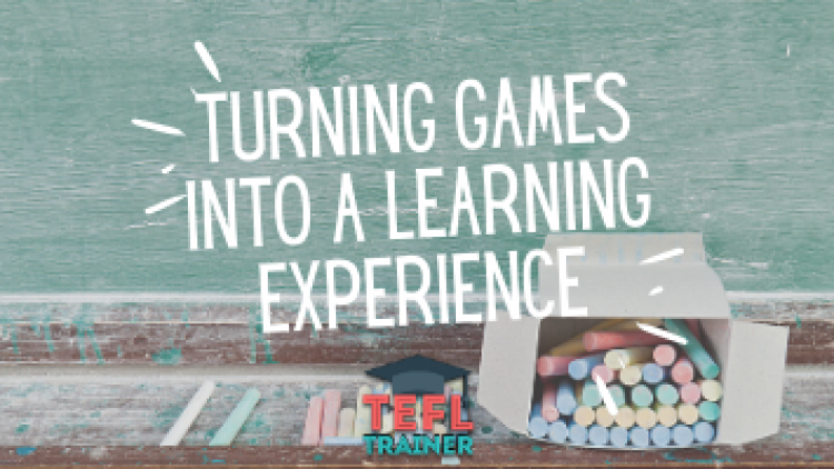 How to turn a game into a learning experience?