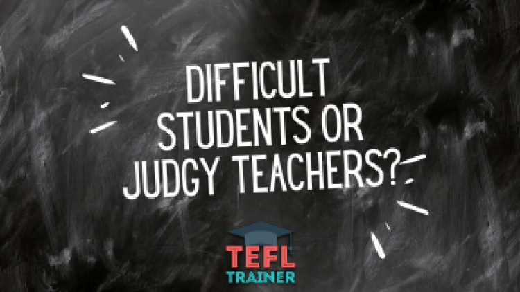 "There are no ""difficult students"", just judgy teachers"