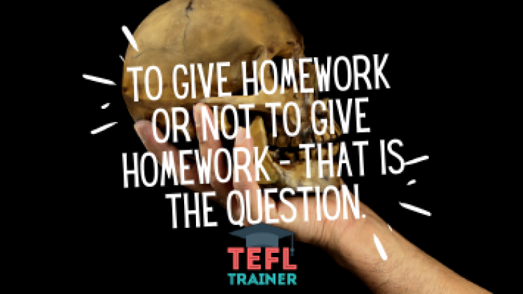 To give homework or not to give homework – that is the question.