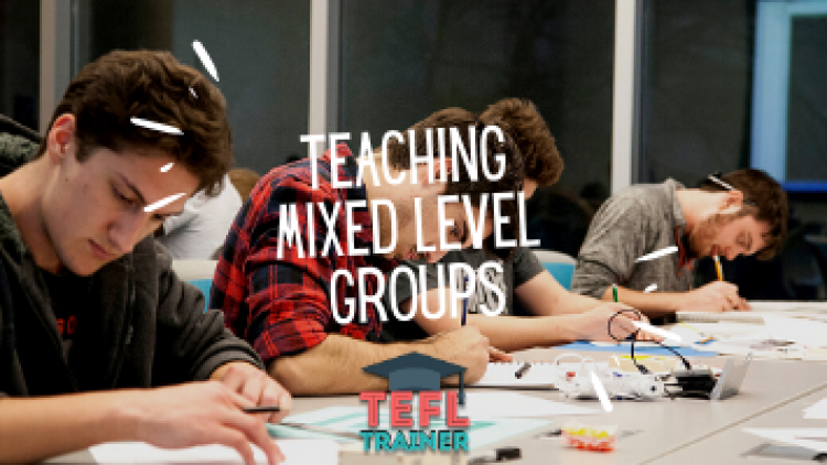 Give examples of how you have incorporated differentiated instruction when teaching a group of learners (i.e. in a mixed level group)