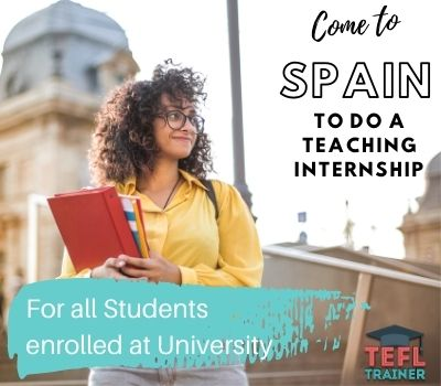 TEFL Trainer Internships in Spain