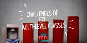 TEFL Trainer Challenges of EFL multi-level classes