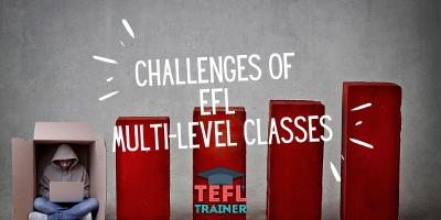 TEFL Trainer Challenges of EFL multi-level classes